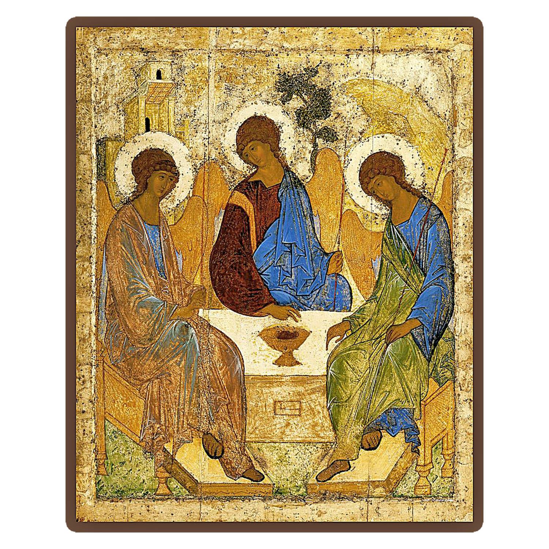 Святая Троица Рублев