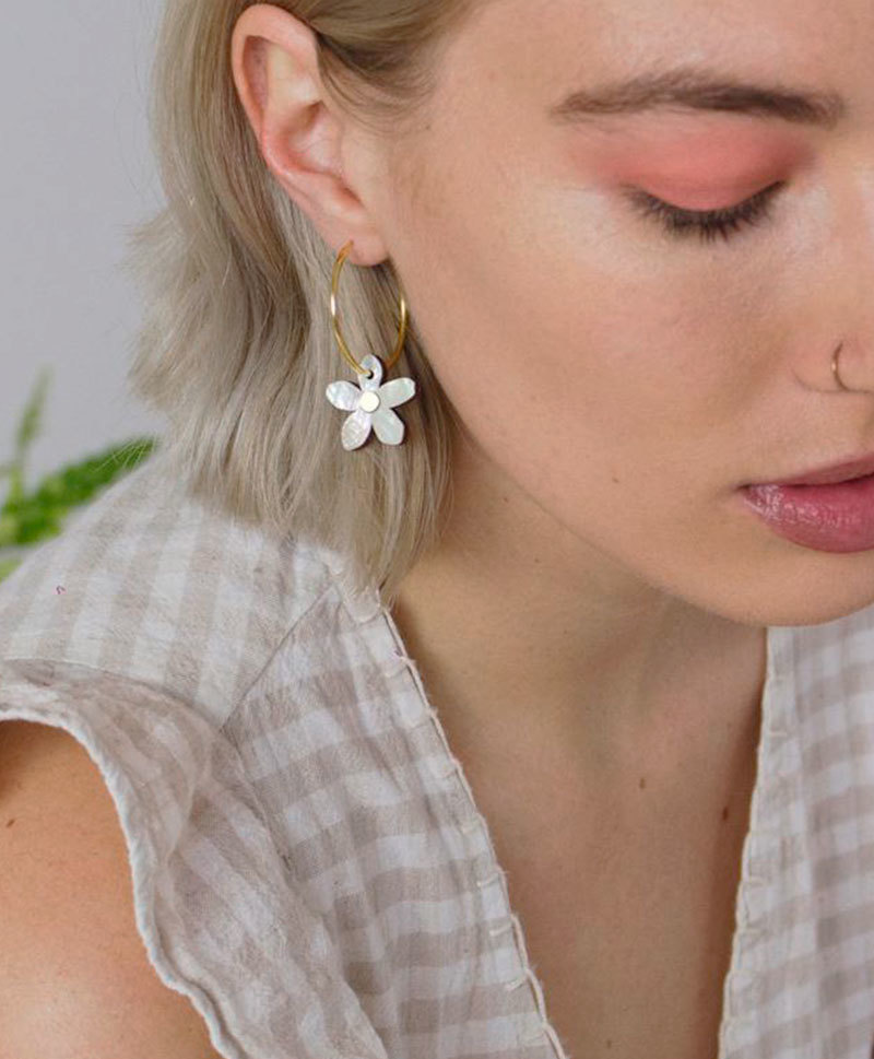 Серьги Orange Blossom Hoops