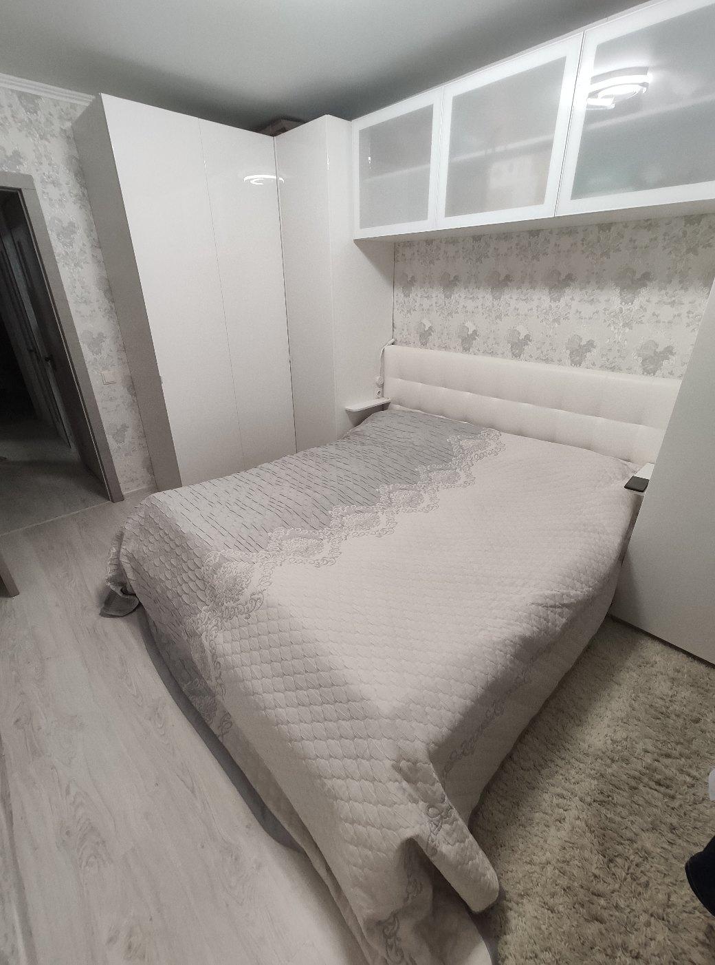 Ткань для покрывал 026169-801 серый