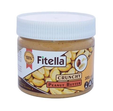 Паста Fitella арахис. с кусочками 300г