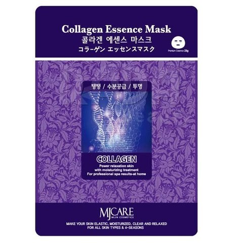 MIJIN Маска тканевая коллаген Collagen Essence Mask