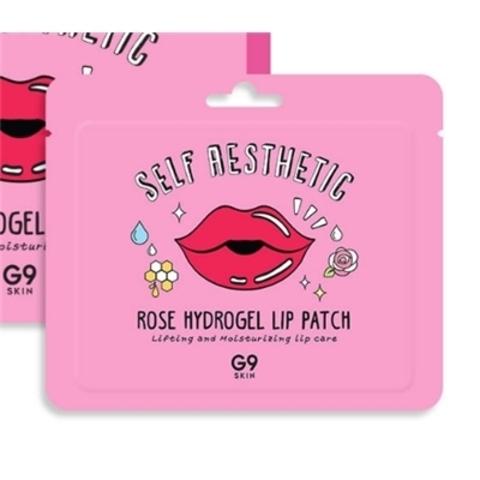 Berrisom G9 Rose Hydrogel Lip Patch гидрогелевый патч для губ с экстрактом розы