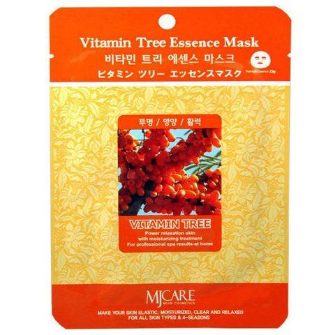 Тканевая маска для лица облепиха MIJIN Care Mask
