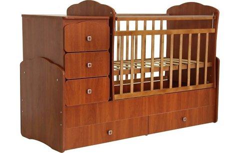 Кровать детская Фея 2100 орех