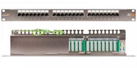 Патч-панель NIKOMAX NMC-RP24SD2-1U-MT
