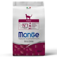 Корм для домашних кошек Monge Cat Indoor
