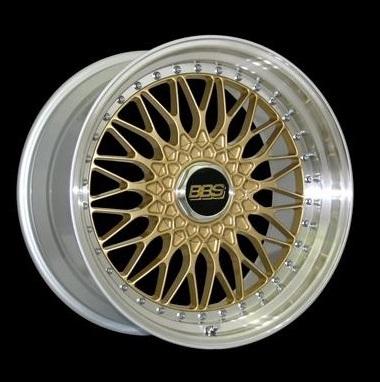Диск колесный BBS Super RS 8.5x20 5x112 ET45 CB82.0 gold