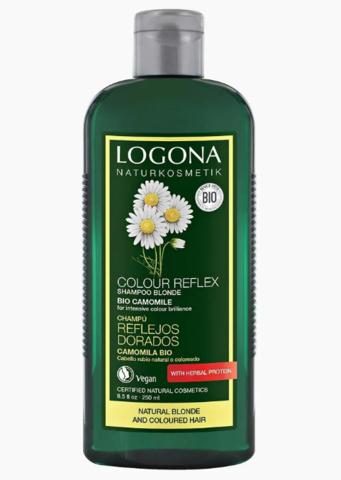 Шампунь для светлых волос с Ромашкой 250 мл (LOGONA)