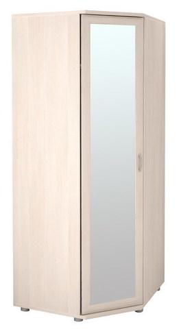 Шкаф угловой для одежды с зеркалом Ника-Люкс 30Р Ижмебель дуб бодега
