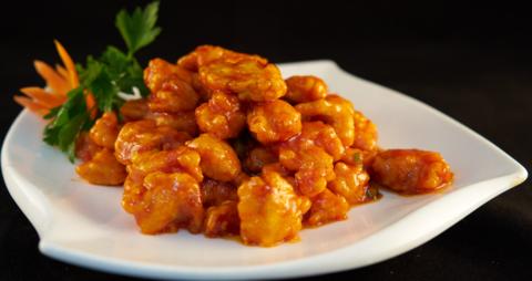 7-3 Курица в кисло-сладком соусе 樱桃肉