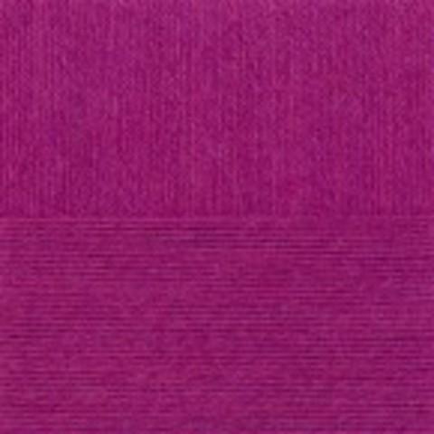 Пряжа КРОССБРЕД БРАЗИЛИИ 575 ярко лиловый (Пехорка)