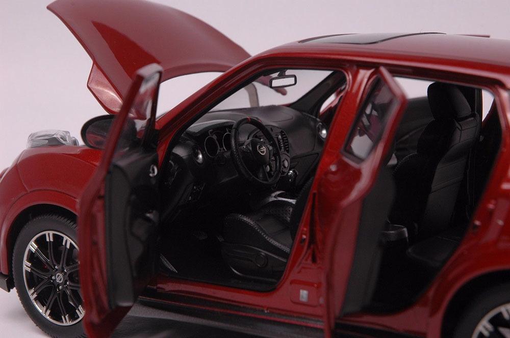 Коллекционная модель Nissan Juke Nismo RS 2014 Red
