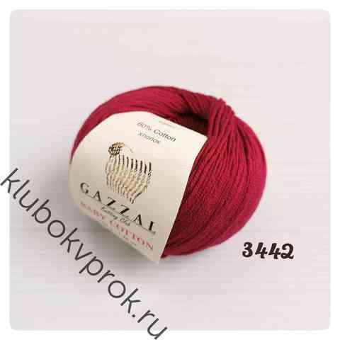 GAZZAL BABY COTTON 3442, Красное вино