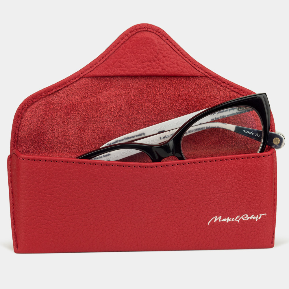 Eyewear pouch - Vision Easy - red