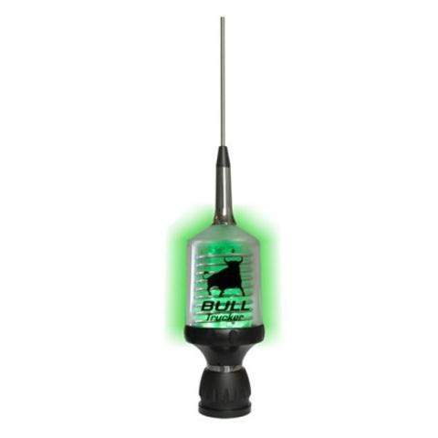 Врезная СиБи антенна SIRIO BULL TRUCKER 3000 COAX LED