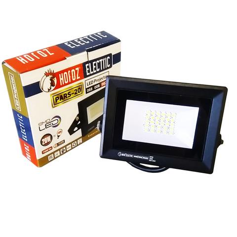Светодиодный прожектор Horoz Electric - PARS - 20 6400K Черный.