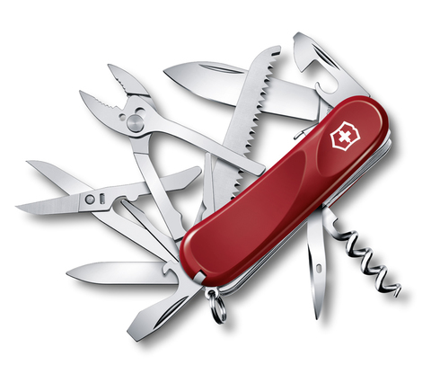 Нож Victorinox Evolution S52, 85 мм, 20 функций, красный