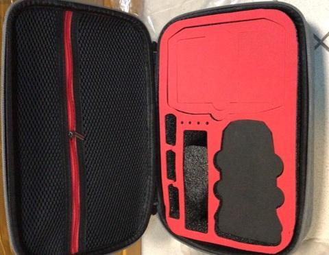 Кейс для квадрокоптера DJI Mini 2 серый размер M