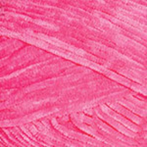 Пряжа YarnArt Velour 860 ярко-розовый