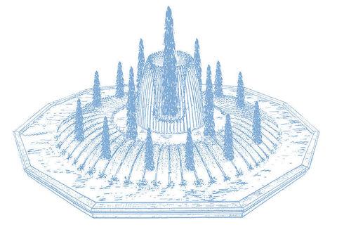 Фонтанный комплект Fountain System C327|C329