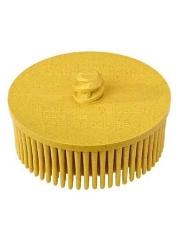 3М Зачистной круг Bristle желтый (средний) 75мм