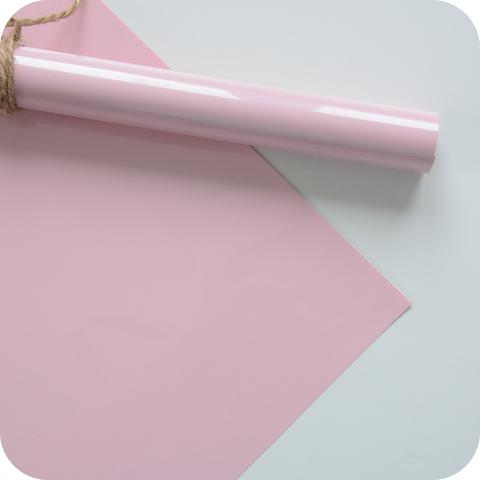Термотрансферная пленка матовая, цвет розовый, размер отреза 25*25см