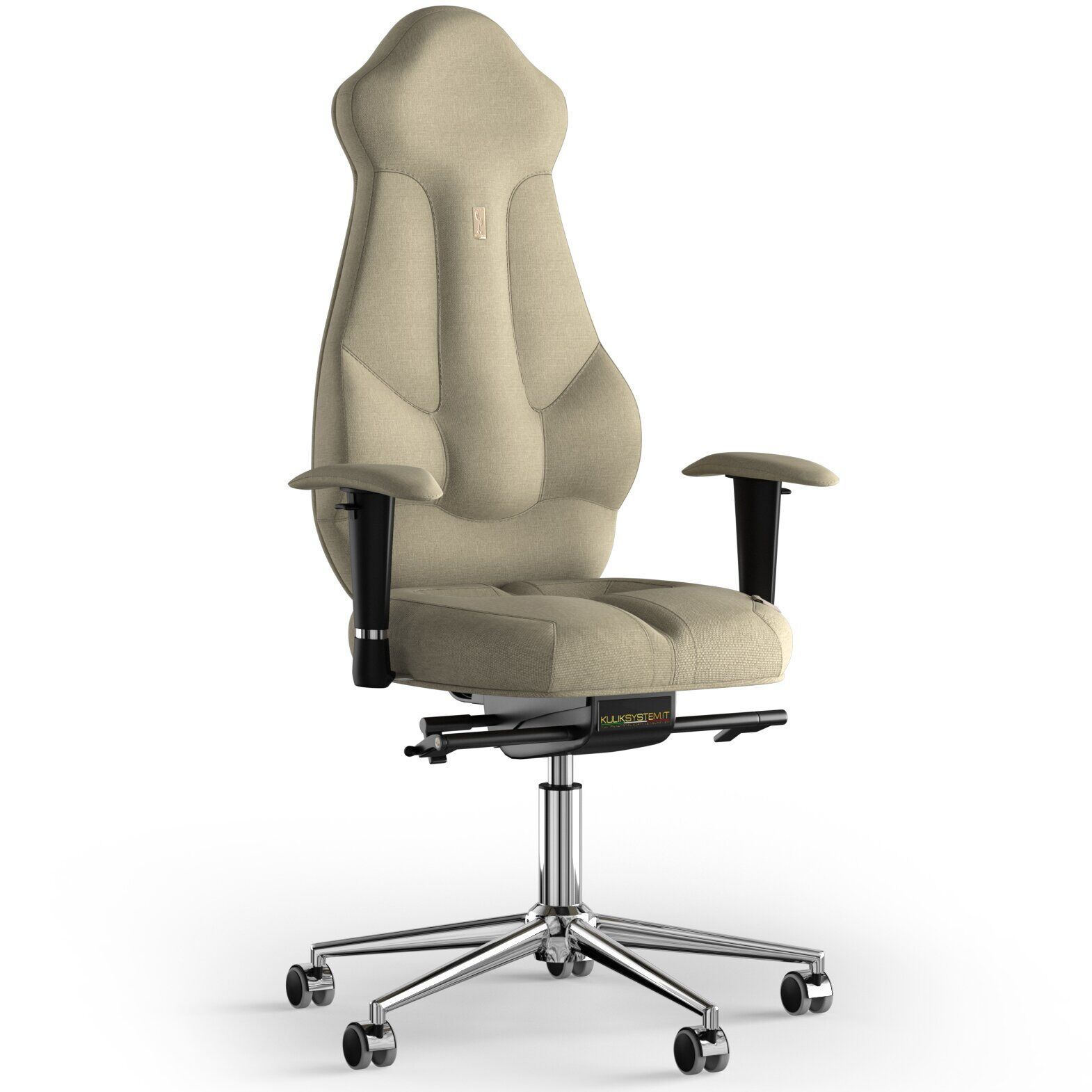 Кресло KULIK SYSTEM IMPERIAL Ткань с подголовником