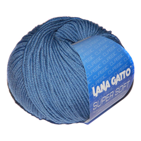 Пряжа Lana Gatto Supersoft 10173 джинс