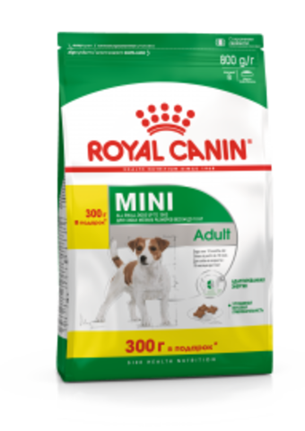 Royal Canin MINI ADULT 500+300 г.