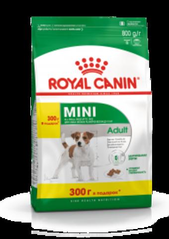 Royal Canin MINI ADULT 500+300 г.