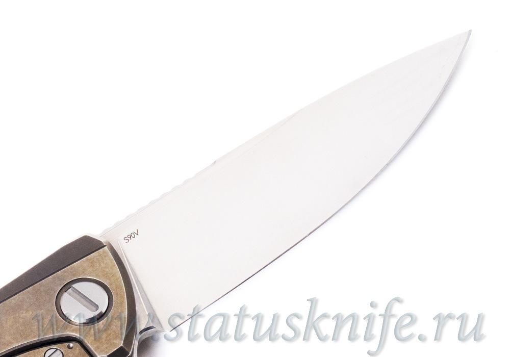 Нож Широгоров F95 Лазурный Дракон Azure Dragon Custom Division - фотография