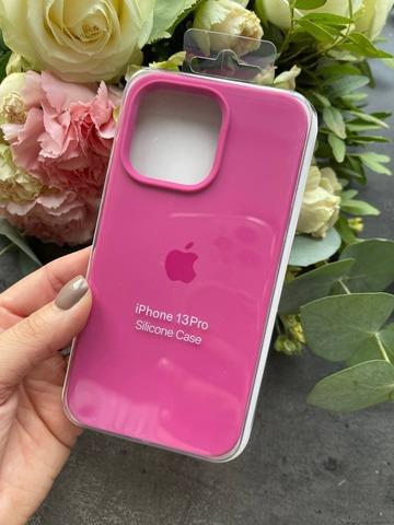 Чехол iPhone 13 Pro Silicone Case Full /dragon fruit/