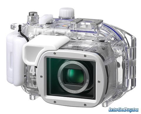 Бокс для подводной съемки для Panasonic DMW-MCTZ1 Аквабокс 40 метров
