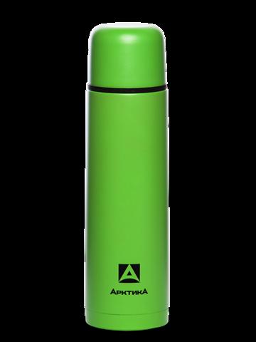 Термос Арктика (0,75 литра) с узким горлом классический, зеленый