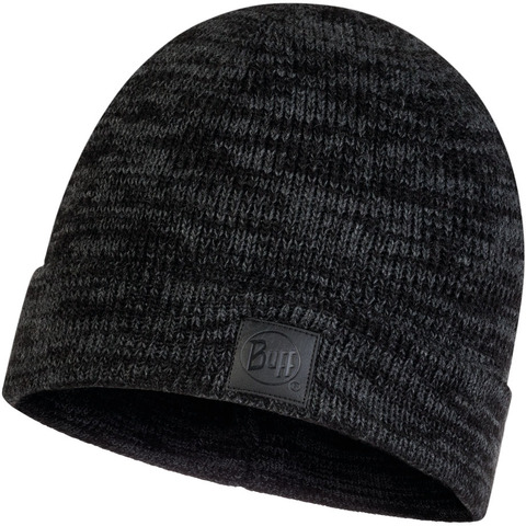 Вязаная шапка Buff Hat Knitted Edik Graphite фото 1