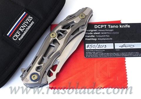 CKF DCPT Tano (M390, Titanium, Zirc, Timascus)