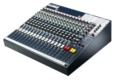 Аналоговые Soundcraft FX16ii