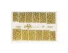 Фольга для дизайна ногтей цвет золото 50 купить за 120руб