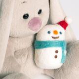 Зайка Ми со снеговичком