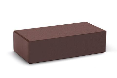 Полнотелый кирпич Темный шоколад 250×120×65 мм