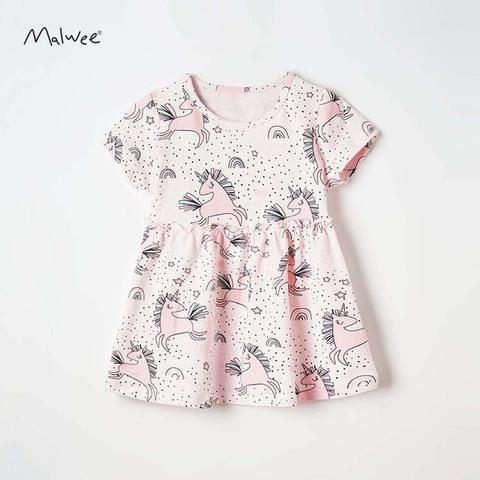 Платье для девочки Malwee Единорожки