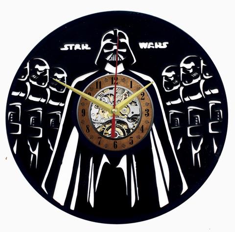 Звездные войны Часы из Пластинки — Дарт Вейдер и Армия клонов