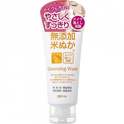 Пенка для снятия макияжа на основе натурального мыла без парабенов с экстрактом риса 120 гр