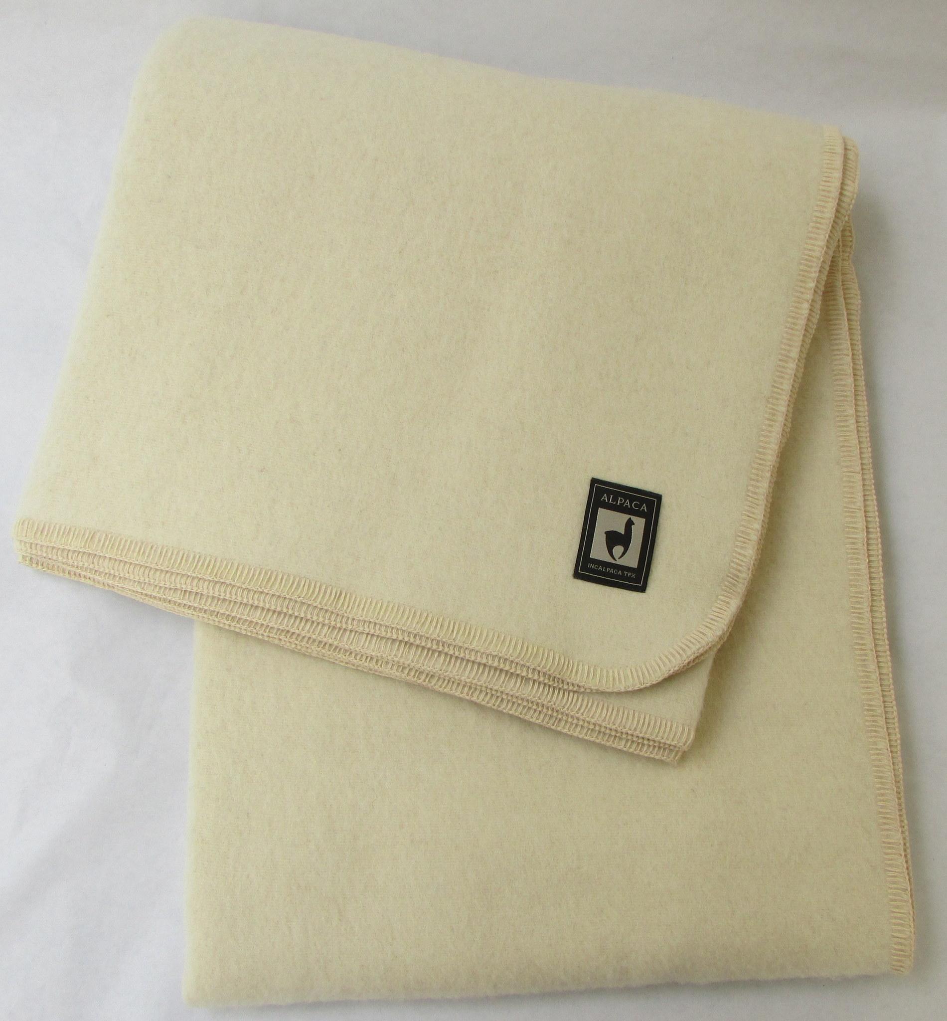 Шерстяные одеяла Одеяло INCALPACA  Перу из шерсти альпаки OA-2 OA-2.JPG