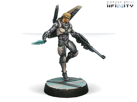 Diomedes, Ekdromoi Officer (Mk12, Nanopulser)