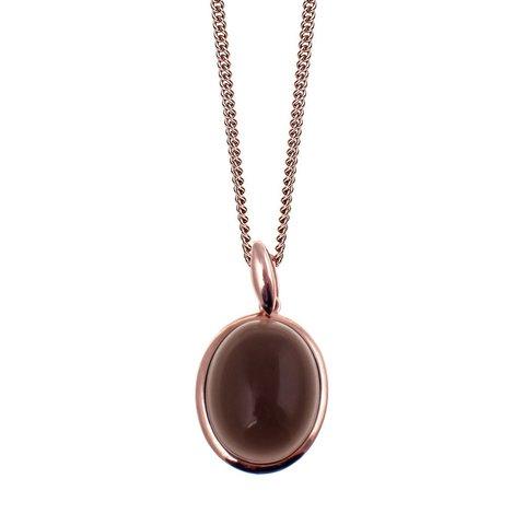 Колье Halskette Alina smoky quartz 200029 RG