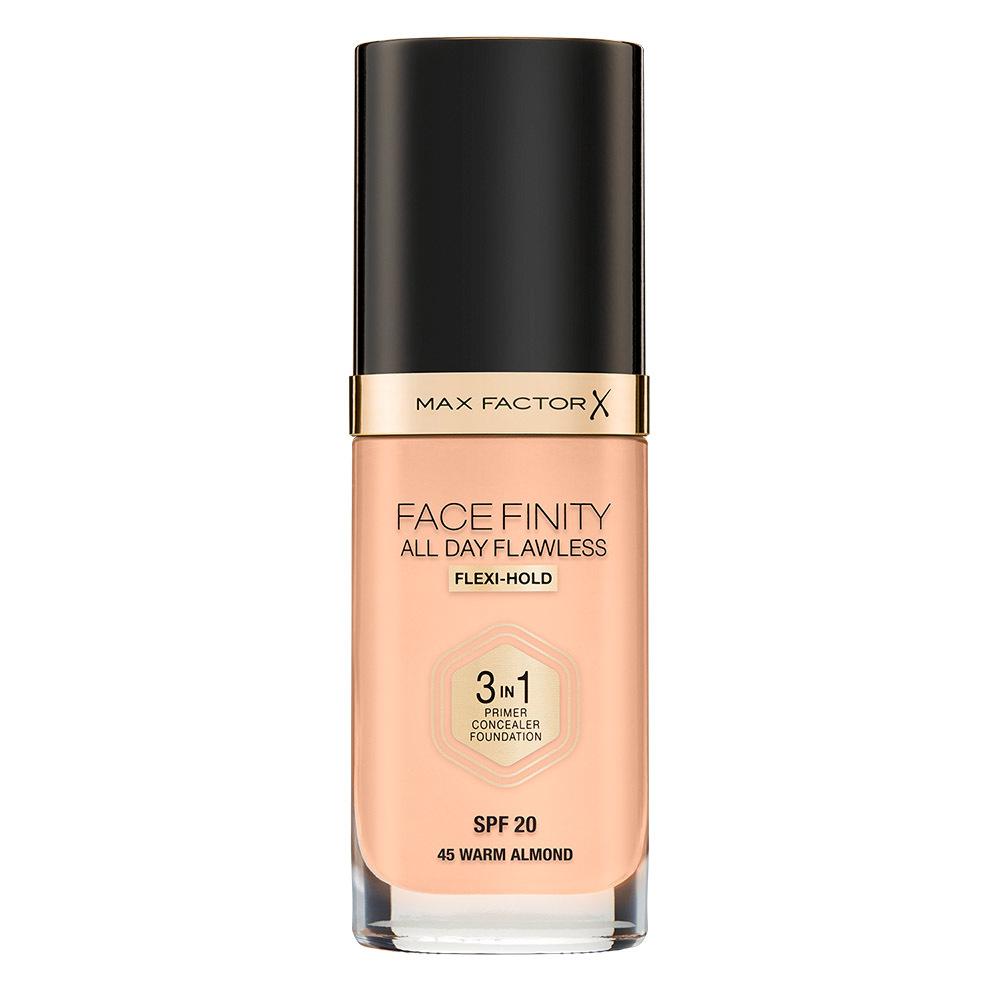 Тональная основа Facefinity All Day Flawless 3в1