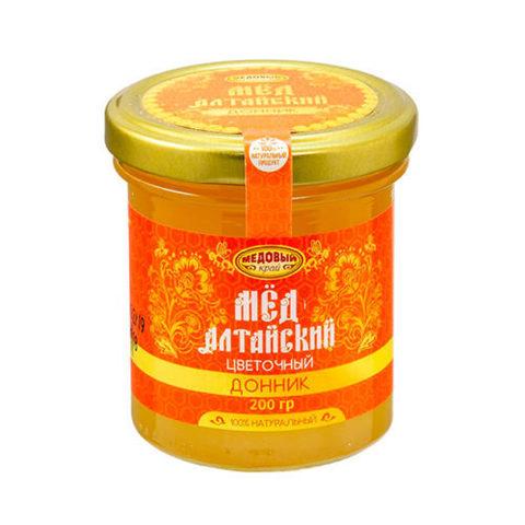 Донниковый алтайский мёд 200 г