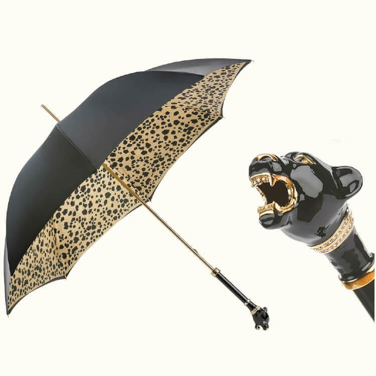 Зонт-трость Pasotti 189-1411-29 Pantera Nero