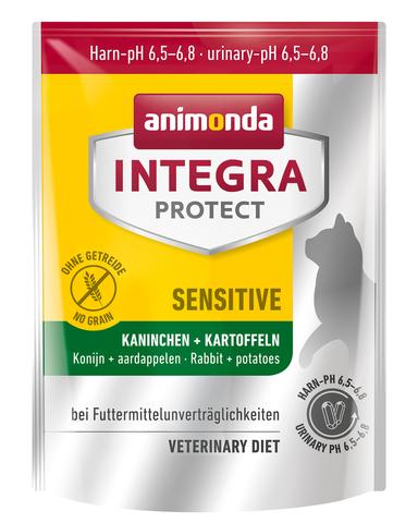 Animonda Integra Protect Cat Sensitive Rabbit & Potatoes